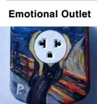 Image may contain: text that says 'Emotional Outlet'